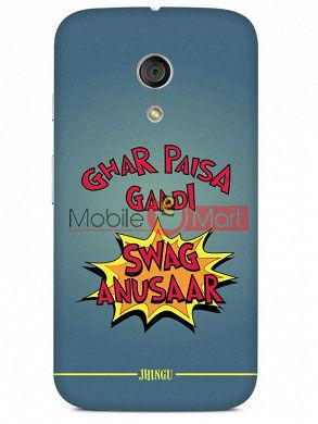 Fancy 3D Swag Anusaar Mobile Cover For Motorola Moto G