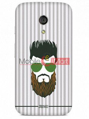 Fancy 3D Hipster Mobile Cover For Motorola Moto G