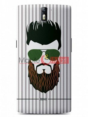 Fancy 3D Hipster Mobile Cover For One Plus One