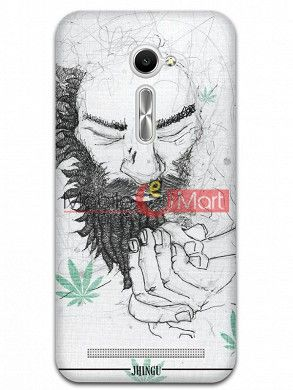 Fancy 3D Chillam Baba Mobile Cover For Asus Zenphone 2