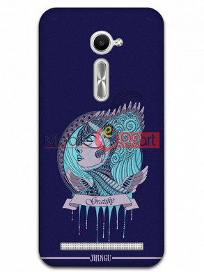 Fancy 3D Warrior Princess Mobile Cover For Asus Zenphone 2