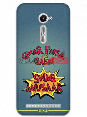 Fancy 3D Swag Anusaar Mobile Cover For Asus Zenphone 2
