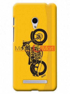 Fancy 3D Royal Enfield Mobile Cover For Asus Zenphone 5