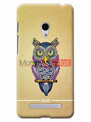 Fancy 3D Designer Owl Mobile Cover For Asus Zenphone 5