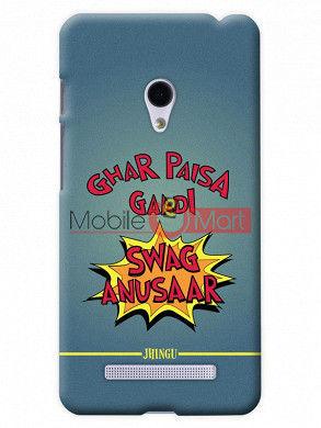 Fancy 3D Swag Anusaar Mobile Cover For Asus Zenphone 5