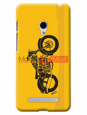Fancy 3D Royal Enfield Mobile Cover For Asus Zenphone 6