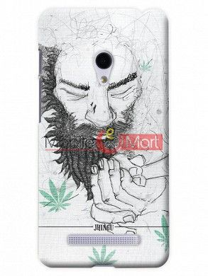 Fancy 3D Chillam Baba Mobile Cover For Asus Zenphone 6