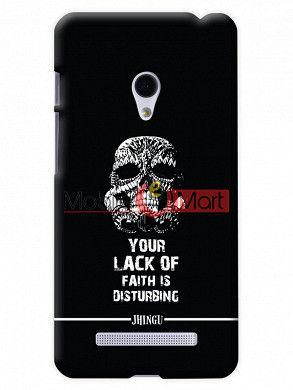 Fancy 3D Darth Vader Mobile Cover For Asus Zenphone 6