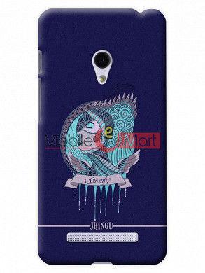 Fancy 3D Warrior Princess Mobile Cover For Asus Zenphone 6