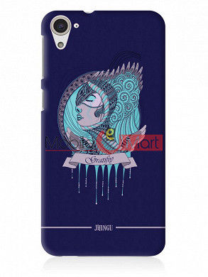 Fancy 3D Warrior Princess Mobile Cover For HTC Desire 826