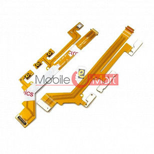 Power On Off Volume Button Key Flex Cable For Xperia M2 D2306