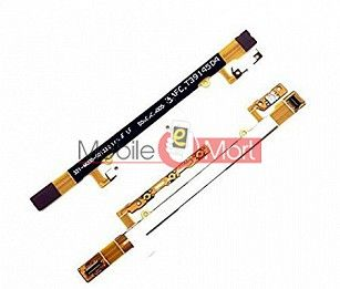 Power On Off Volume Button Key Flex Cable For Sony Xperia C 2305