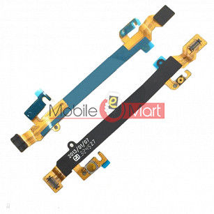 Power On Off Volume Button Key Flex Cable For Sony Xperia C-2104