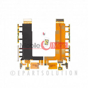 Power On Off Volume Button Key Flex Cable For Sony Xperia Z3