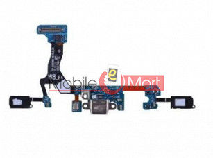Charging Connector Port Flex Cable For MICROMAX CANVAS SPARK Q380