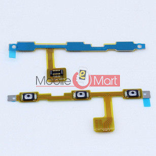 Power On Off Volume Button Key Flex Cable For VIVO Y22
