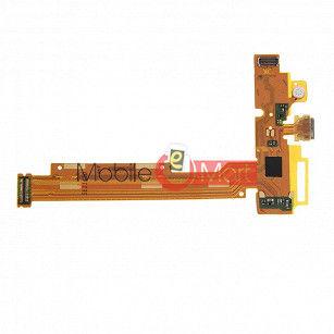 Charging Connector Port Flex Cable For Vivo Y22