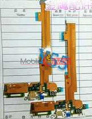 Charging Connector Port Flex Cable For VIVO Y55
