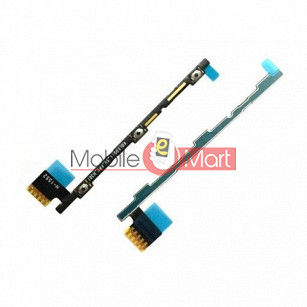 Power On Off Volume Button Key Flex Cable For Lenovo K5 Note