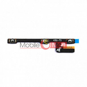 Power On Off Volume Button Key Flex Cable For Lenovo K3 Note