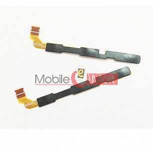 Power On Off Volume Button Key Flex Cable For Lenovo K6 Note