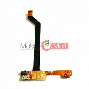 Charging Connector Port Flex Cable For LAVA IRIS FUEL F1