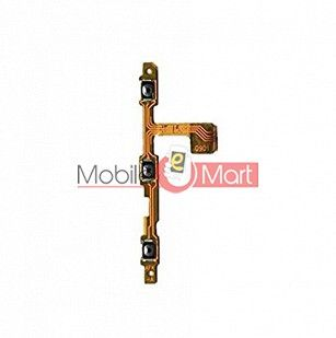 Power On Off Volume Button Key Flex Cable For Vivo y51