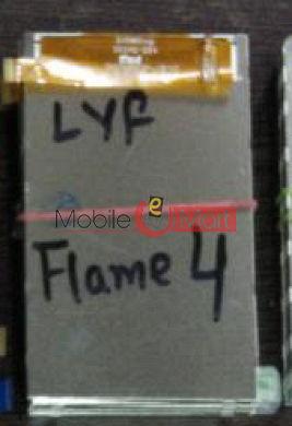 Lyf Flame 4  lcd display