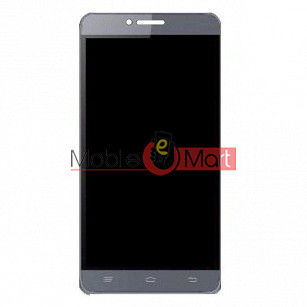Lcd Display With Touch Screen Digitizer Panel For Intex Aqua Sense 5.1