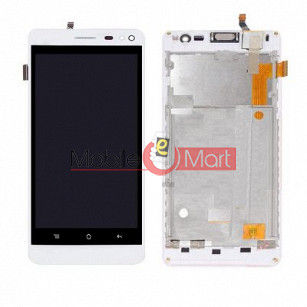 Lcd Display With Touch Screen Digitizer Panel For Intex Aqua Raze