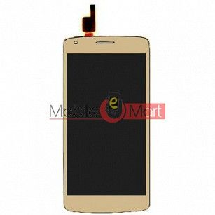 Lcd Display With Touch Screen Digitizer Panel For Intex Aqua Star 2 HD