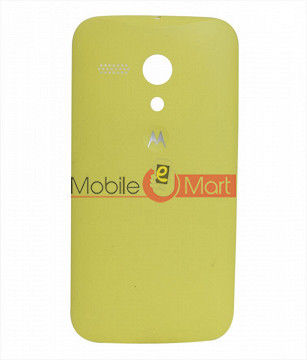 Replacement Back Panel For Motorola Moto G - Yellow