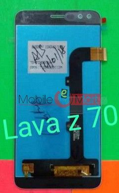 Lcd Display With Touch Screen Digitizer Panel For Lava Z70