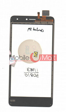 Touch Screen Digitizer For Intex Cloud S9