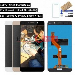 Lcd Display With Touch Screen Digitizer Panel For Honor Holly 4 Plus(Black)