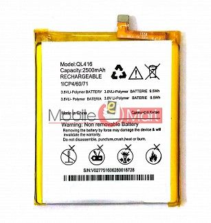 Mobile Battery For Micromax Canvas Pace 4G Q416