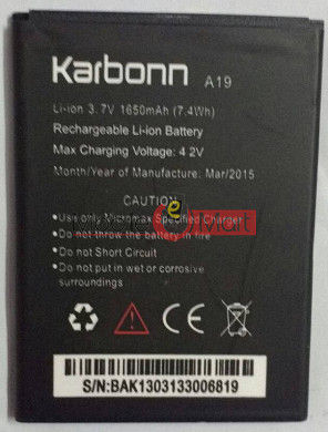 Mobile Battery For  Karbonn A19