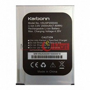 Mobile Battery For Karbonn Titanium Dazzle 2 S202