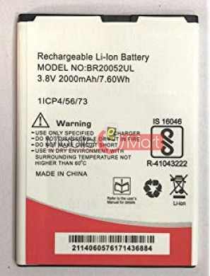 Ajah Mobile Battery For Intex Aqua Lions 4G