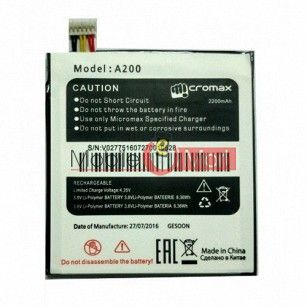 Mobile Battery For Micromax Canvas Turbo Mini A200