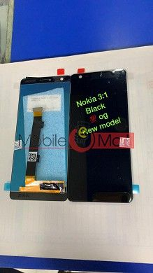 Lcd Display With Touch Screen Digitizer Panel For Nokia 3.1