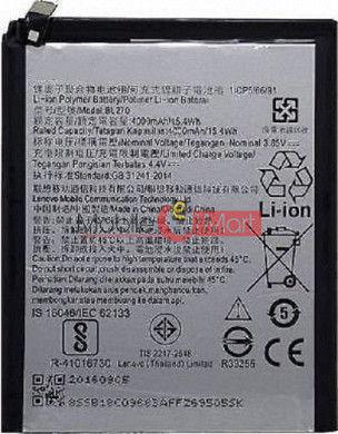 Mobile Battery For Lenovo K8 Plus