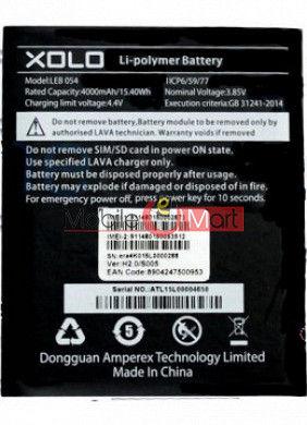 Mobile Battery For Xolo Era 4K