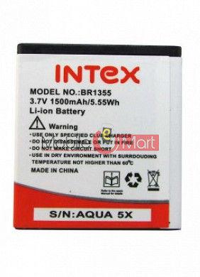 Mobile Battery For Intex Aqua 5x