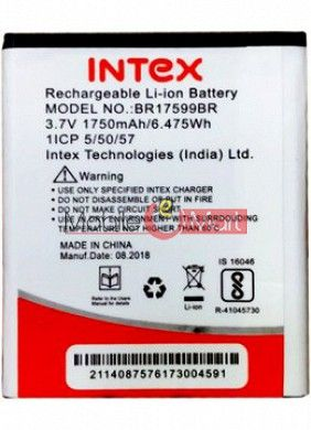 Mobile Battery For Intex Aqua A4
