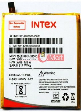 Mobile Battery For Intex Aqua Crystal