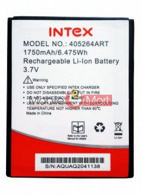 Mobile Battery For Intex Aqua Q2