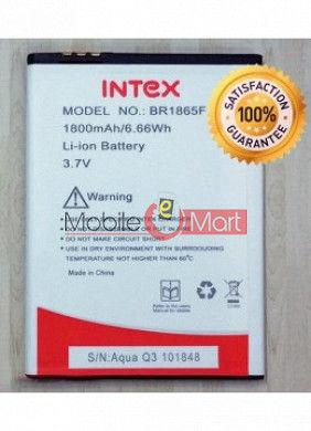 Mobile Battery For Intex Aqua Q3
