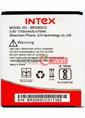 Mobile Battery For Intex Aqua Star 4G