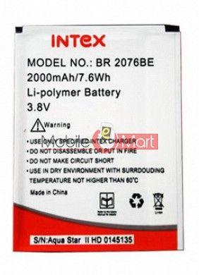 Mobile Battery For Intex Aqua Star II 2 HD